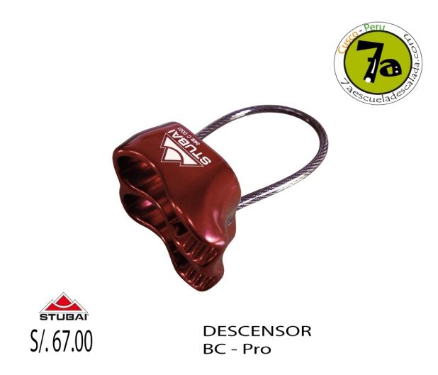 Descensor-BC-pro